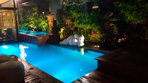 En la CASACOR Bahía, la piscina iGUi es la gran estrella