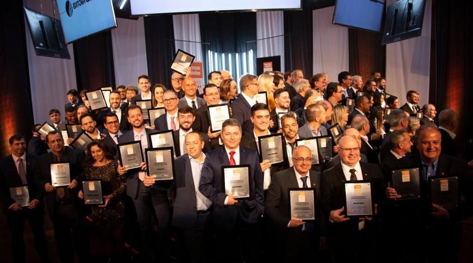 Os vencedores do Guia das Melhores Franquias do Brasil 2019/2020 (Foto: Samuel Esteves)
