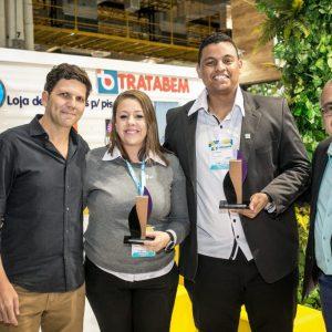 Equipe iGUi e TRATABEM ganha Primeiro lugar no Prêmio ABF Estande Sustentável